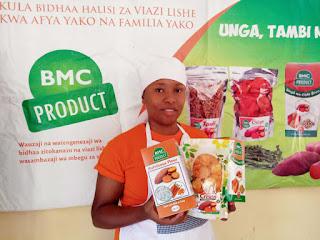 'Better Markets for Crops Products' #Tanzania founded by Zena Mshana @Zenamshana2