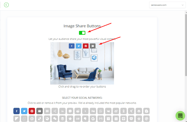 Cara Memasang Widget ShareThis Share Button di Blogger