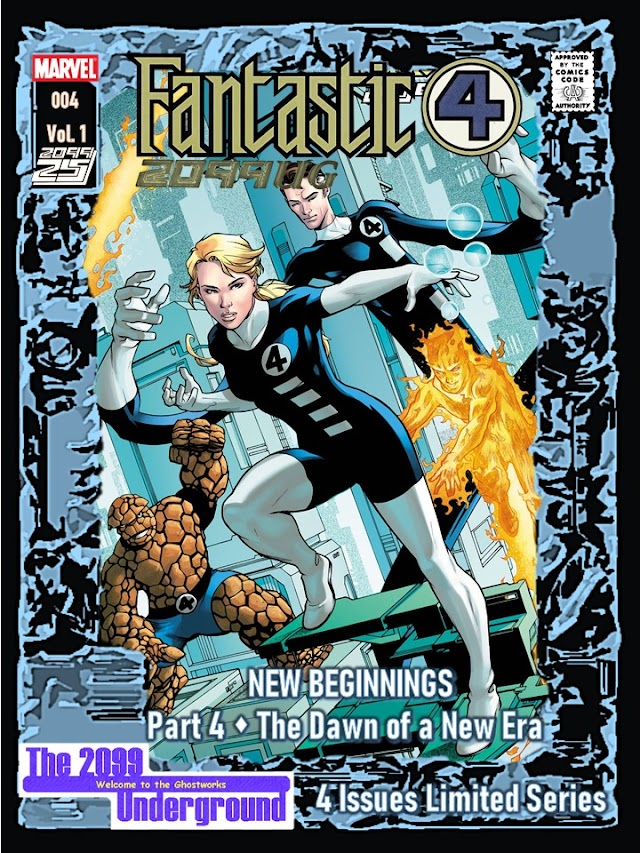 Fantastic Four 2099UG Issue 4 (of 4)