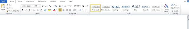 Mengenal Fungsi Menu Home Pada Microsoft Word