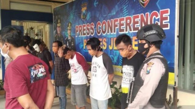 Buruh, Pelajar dan Mahasiswa Jadi Tersangka Demo Rusuh di DPRD Jember