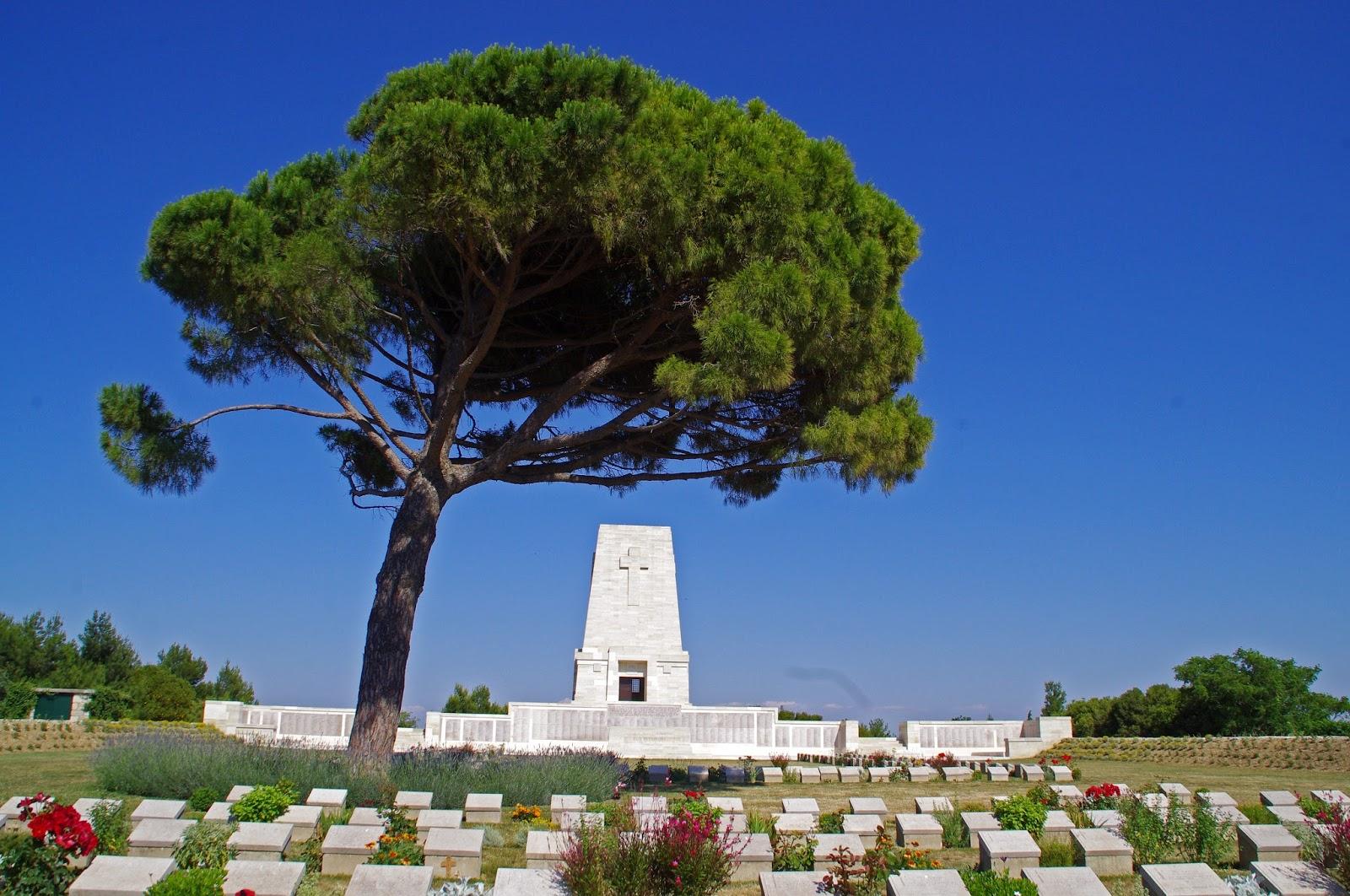 Lone Pine Memorial Gallipoli Peninsula