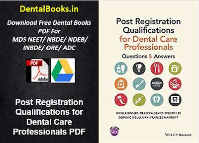 Post Registration Qualifications for Dental Care Professionals PDF