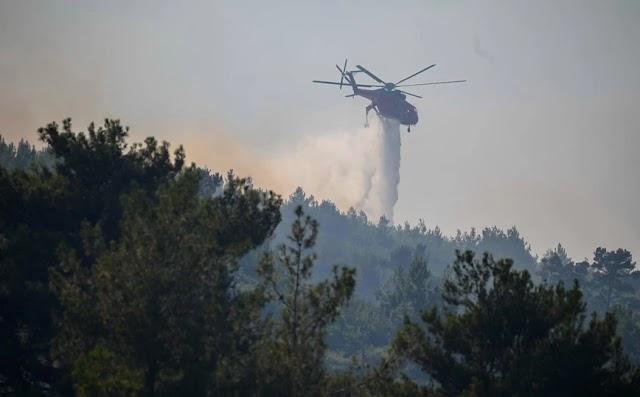 Φωτιά τώρα στην Κω – Καίει κοντά σε κατοικημένη περιοχή