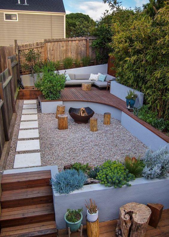 beauty small backyard landscaping idea