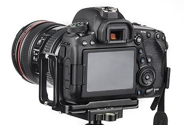 Sunwayfoto PCL-6DII L Bracket on Canon EOS 6D MKII