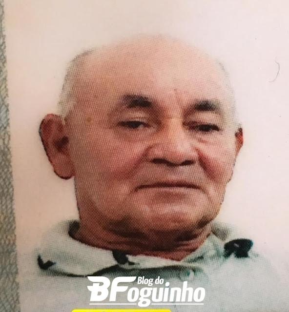 Corpo do idoso Zé Rosa de 63 anos foi encontrado dentro de um matagal.