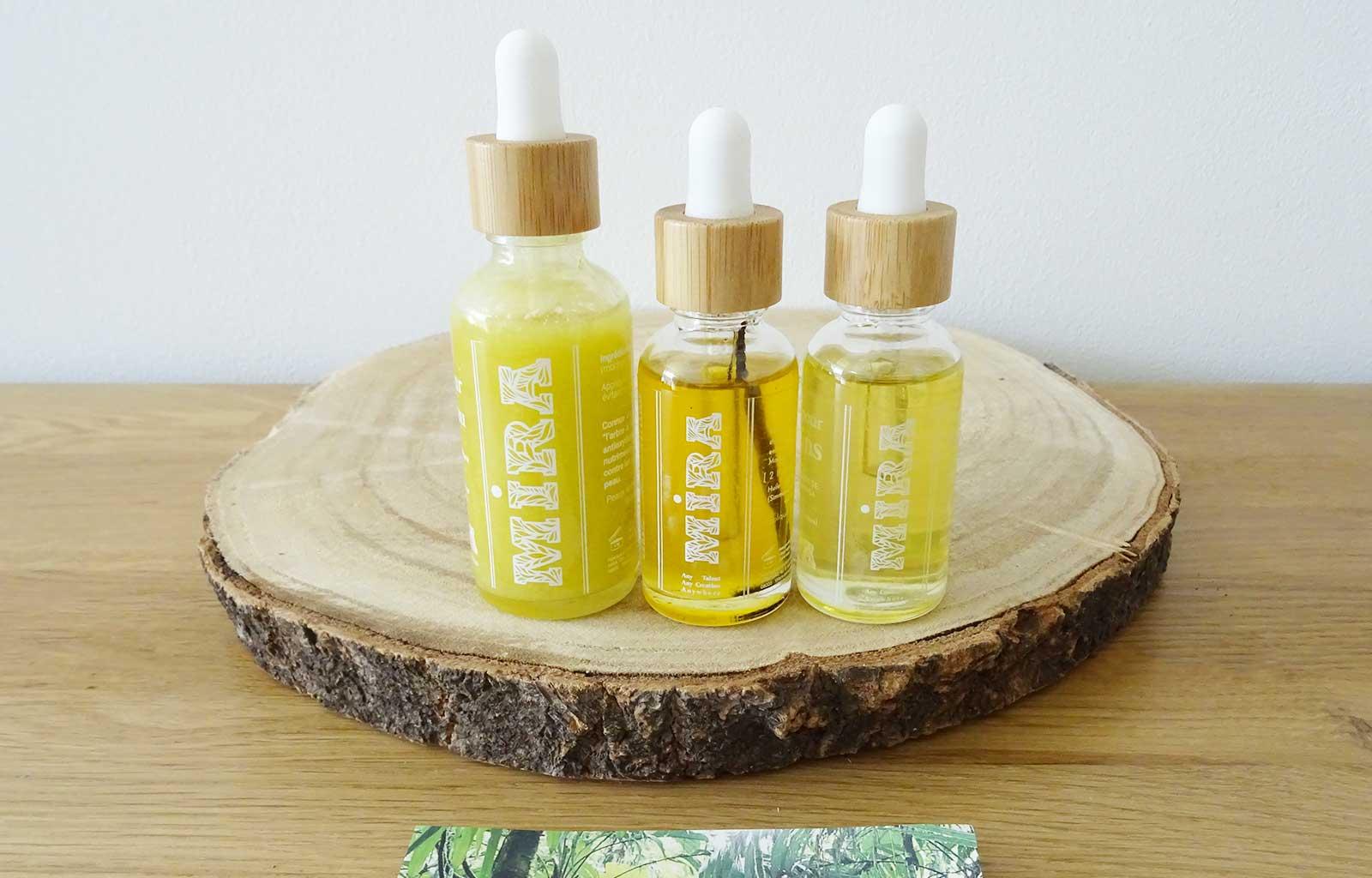huiles végétales MIRA