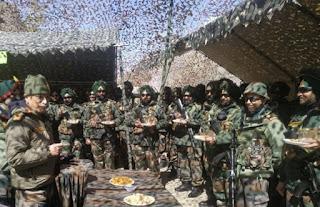 थल सेनाध्यक्ष ने सियाचिन और पूर्वी लद्दाख का दौरा किया