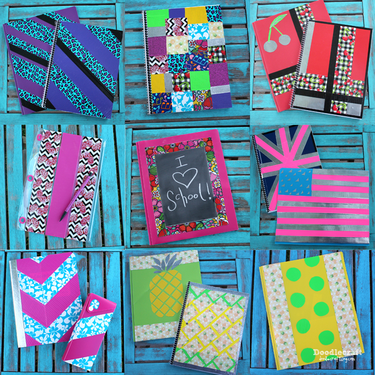 Doodlecraft: Duck Tape® Back To School In Style! #DucktoSchool