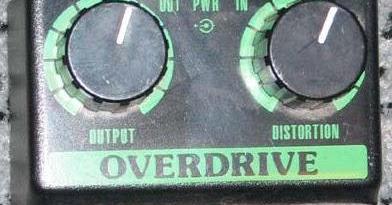 Guitar Fx Layouts Mxr Commande Overdrive