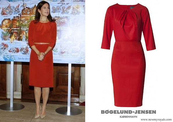 Crown Princess Mary wore Signe Bøgelund-Jensen Present Neck layer dress