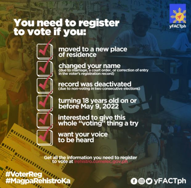 qualifications register to vote