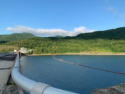 朝里ダム湖