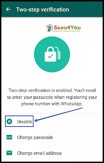 WhatsApp Two Step Verification Ko Enable or Disabled Kaise Kare