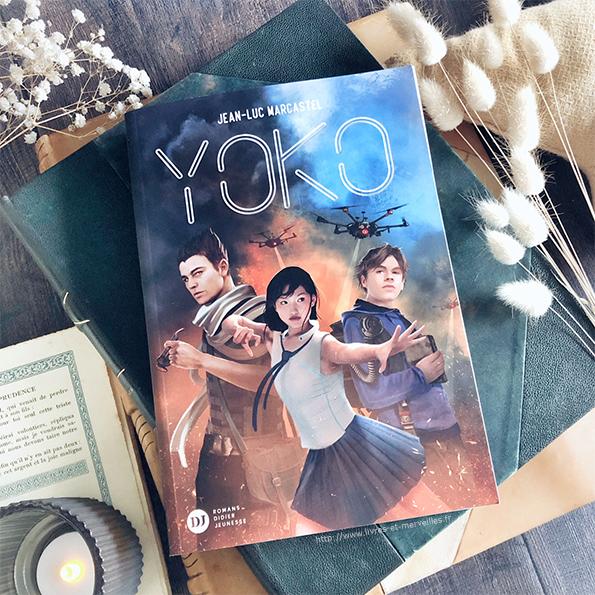 Roman Ado : Yoko de Jean-Luc Marcastel