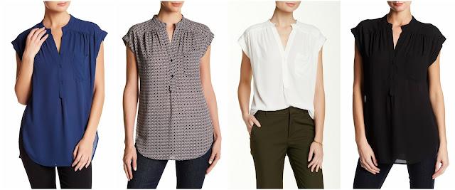 Pleione Short Sleeve Kim Blouse $30 (reg $64)