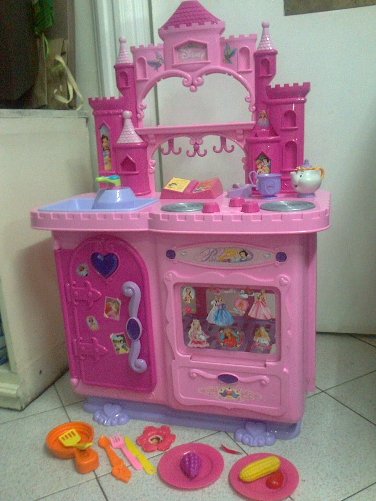 Mommyslove4baby143 Disney Princess Deluxe Talking Kitchen