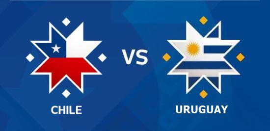 موعد مباراة اوروجواي وتشيلي سواريز كافاني اليوم الثلاثاء 25 / 6 /2019 الجولة الثانية كوبا أمريكا 2019