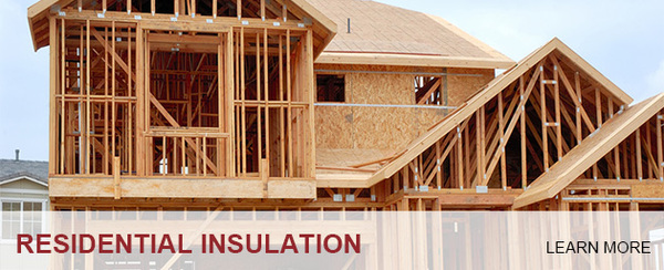 new Residential Construction ready for Insulation; Foam Insealators of Maryland and Virginia