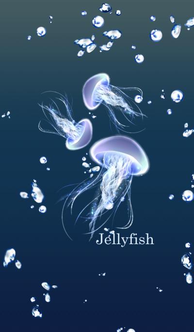 海の泡とクラゲ