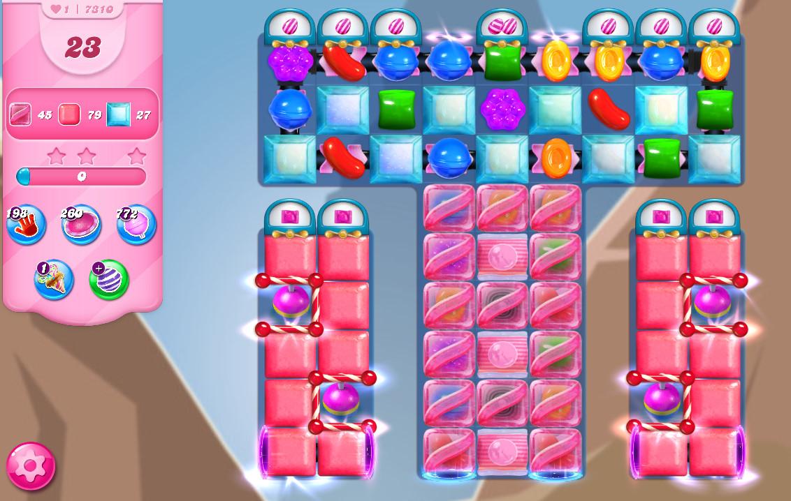 Candy Crush Saga level 7310