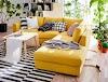 15 Εξαιρετικά Σαλόνια με Γωνιακούς Καναπέδες