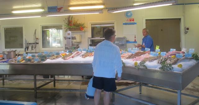 Honfleur - Fischmarkt