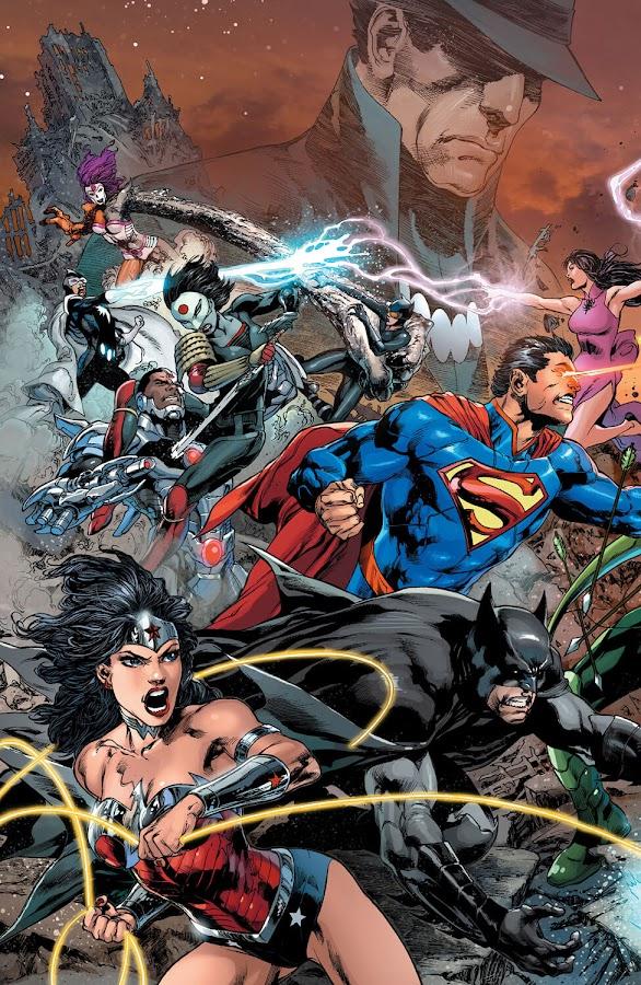 justice league dc comics new 52 geoff johns ivan reis