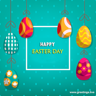 Happy Easter day Easter Eggs Wishes free download