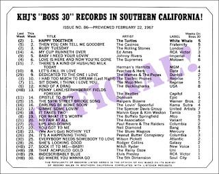 KHJ Boss 30 No. 86 - February 22, 1967