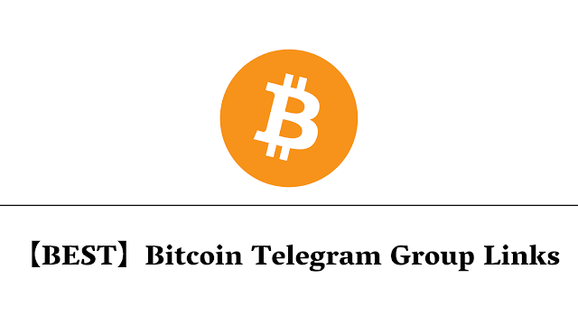 【BEST】Bitcoin Telegram Group Links