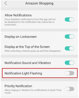 Cara Mengaktifkan LED Notification di Hp Oppo