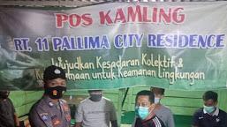 Waspadai Pidana C3, Sat Binmas Polres Tebo Sambangi Pos Ronda