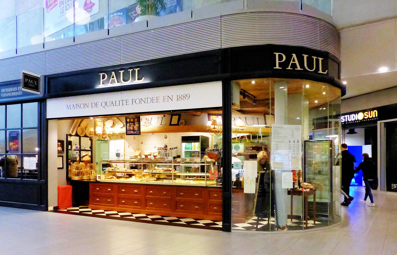 Boulangeries Tourcoing - Paul Espace Commercial St Christophe