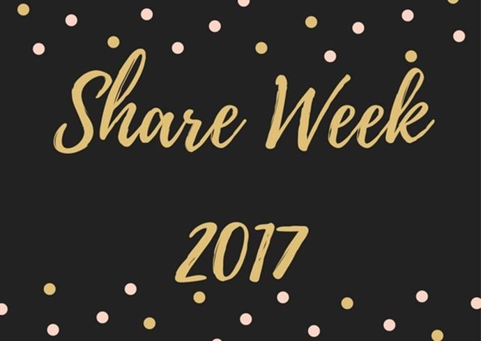 Nie Tylko Różowo poleca, czyli Share Week 2017