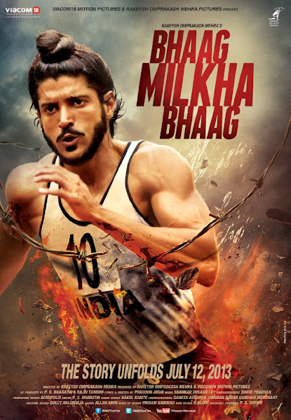 Poster of Bhaag Milkha Bhaag 2013 720p Hindi BRRip Full Movie Download