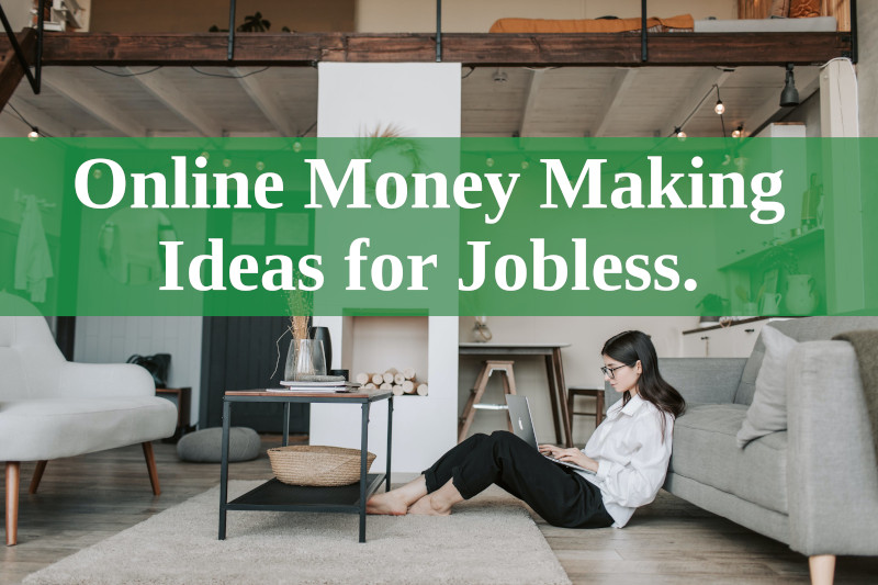 Online Money Making Ideas for Jobless.