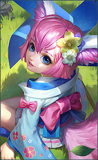 Nana Wind Fairy Heroes Support Mage of Skins MPL Exclusive V2