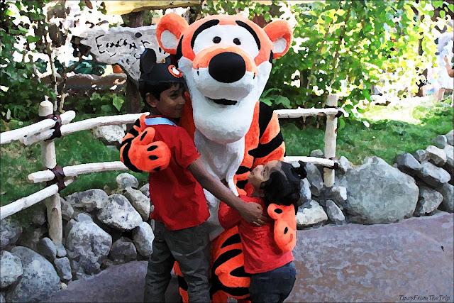 Tigger at Disneyland, California.