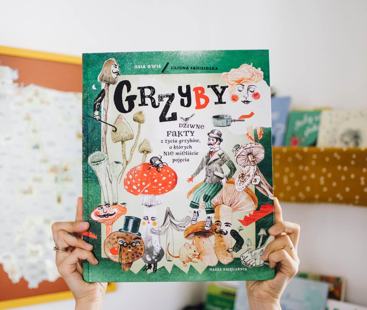 Grzyby książka dla dzieci