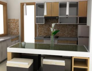 Menghias serta Mengatur Dapur Kecil Rumah Anda