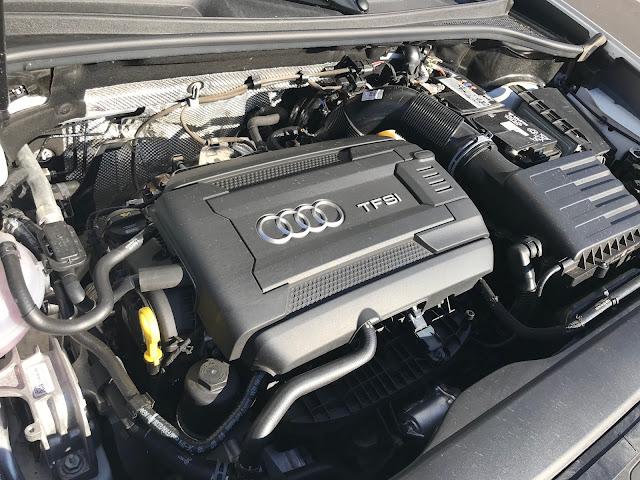 Engine in 2019 Audi Q3 S Line quattro