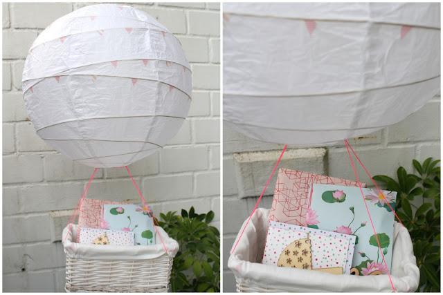 kleines freudenhaus diy ballon zur geburt inkl s es f r die frischgebackenen eltern. Black Bedroom Furniture Sets. Home Design Ideas