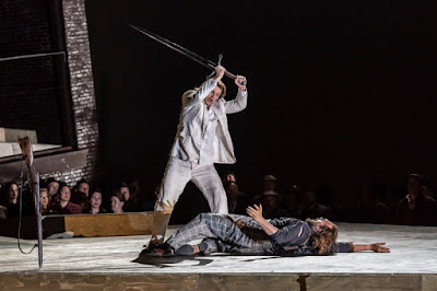 Wagner: Lohengrin - Klaus Florian Vogt, Thomas J Mayer - (Photo ROH/Clive Barda)