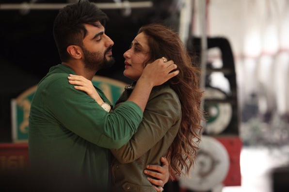 Kareena Kapoor and Arjun Kapoor as Kia and Kabir in R. Balki's Ki & Ka