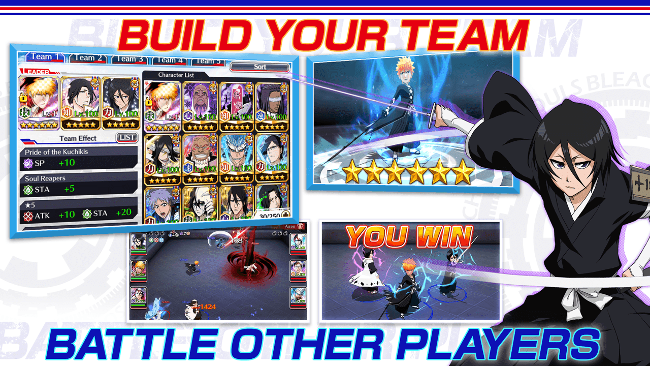 BLEACH Brave Souls 11.0.4 APK Mod (unlimited skills) Download