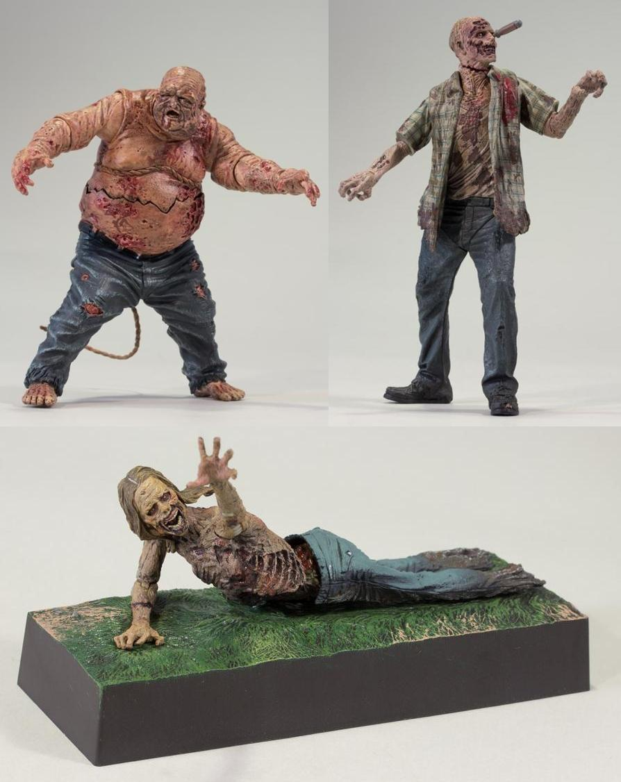 the blot says the walking dead television series 2 action figures by mcfarlane toys. Black Bedroom Furniture Sets. Home Design Ideas