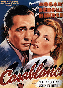 Poster Of Hollywood Film Casablanca (1942) In 300MB Compressed Size PC Movie Free Download At worldfree4u.com