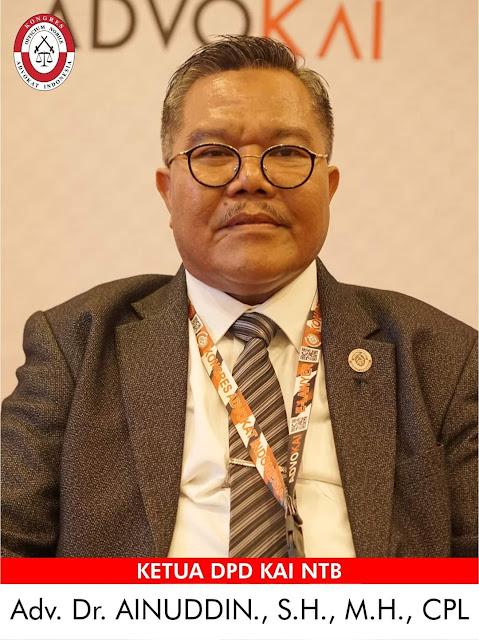 Klarifikasi Ketua DPD KAI NTB Terkait Advokat Ditangkap karena Diduga Bandar Narkoba